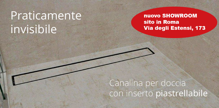 Canalette Doccia 65 mm