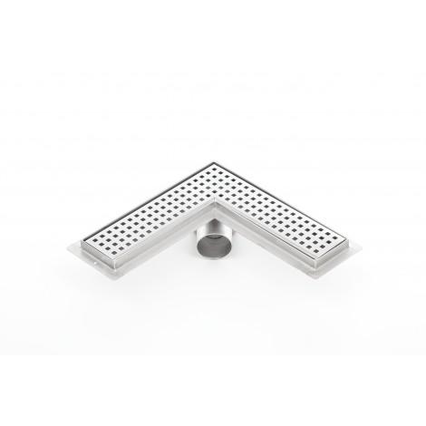 Canalina doccia angolare PREMIUM 600mm