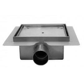 Piletta doccia con inserto piastrellabile BILBET 150x150mm