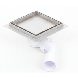 Piletta doccia con inserto piastrellabile SILVER 150x150mm