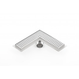 Canalina doccia angolare PREMIUM 900mm